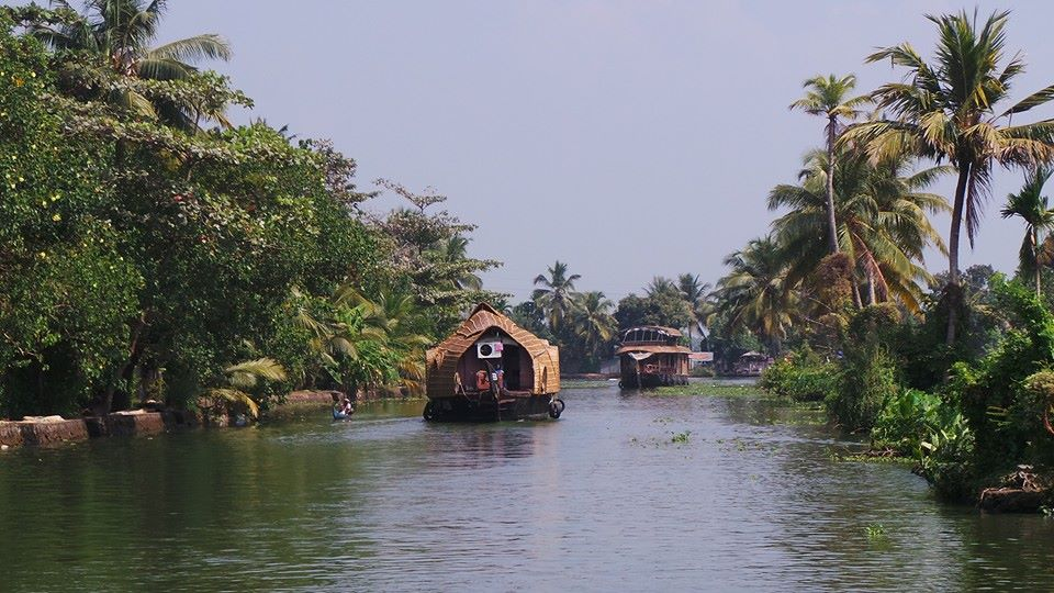 Kerala Backwaters near Allepey