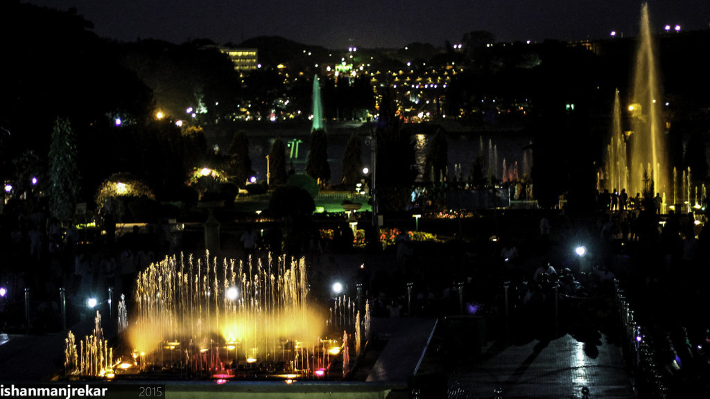 The Gardens at Night. Photo by Ishan Manjrekar