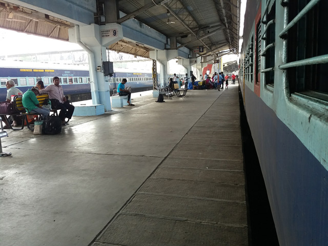 India's Cup trains in India