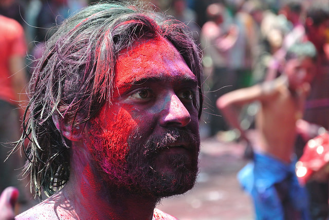 Drenched in Paint. Photo Credit: Julian Correa