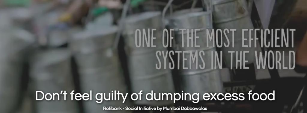 Don't Dump the Food! Photo Credit: Roti Bank