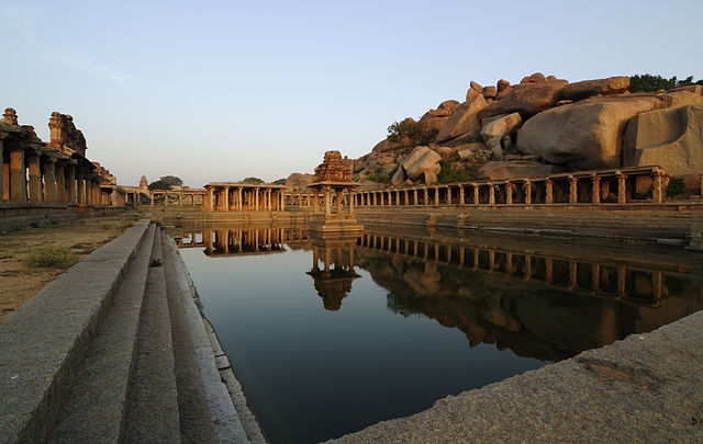 ruins of Hampi Indian adventure rally