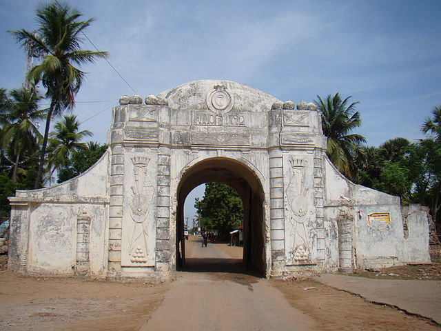 Town Gate Danish colony of Tranquebar