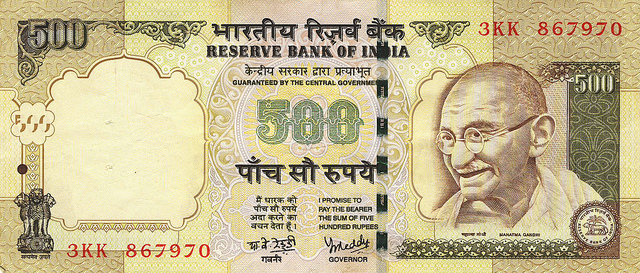India's 500 and 1000 Rupee Notes to be Abolished